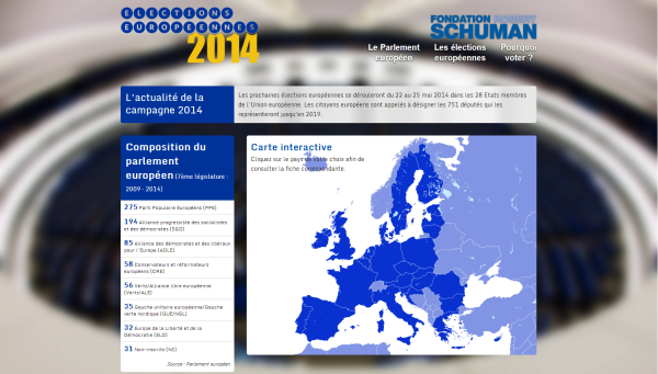 capture d'écran du site elections-europeennes.robert-schuman.eu